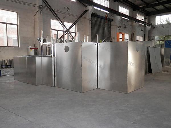 餐饮行业大型隔油隔渣隔悬浮物隔油净化设备使用寿命
