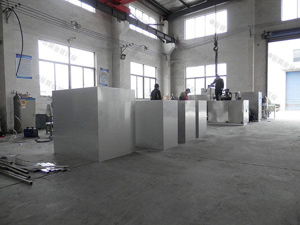 厨下型8吨的长宽高混凝土隔油强排设备介绍