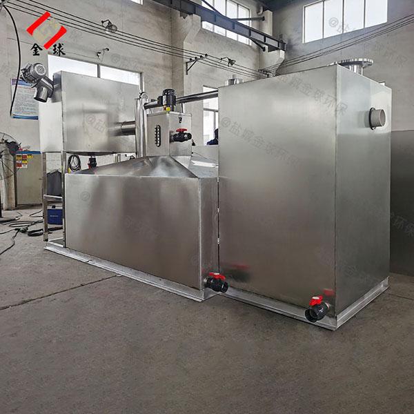 3.5米*1.35米*1.85米餐厨垃圾自动化餐厨垃圾油水分离设备规格