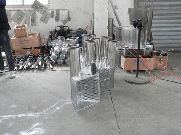 厨下型3.1米*1.2米*1.85米砖砌隔油污水提升一体化设备设计计算