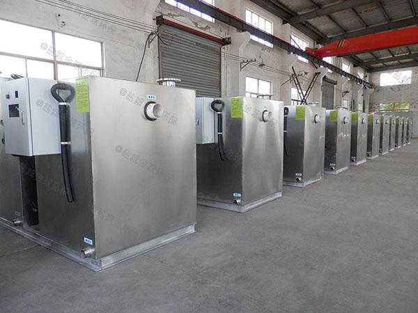 3.1米*1.2米*1.85米住宅楼自动油水分离设备是干嘛用的