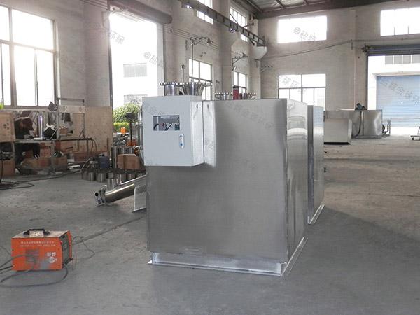 厨余3.1米*1.2米*1.85米混凝土隔油提升一体化装置生产商