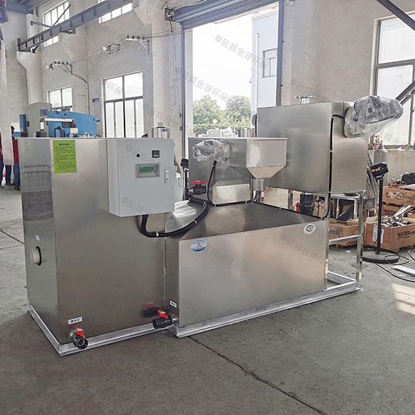 100人综合体自动化隔油提升设备厂家