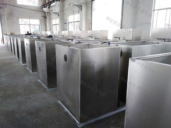 食堂用地下式无动力化油池公司