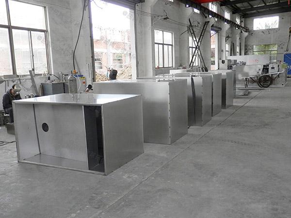 生活室外移动式油水处理设备升级改造