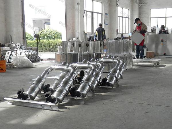 饭馆8吨的长宽高不锈钢隔油全自动提升设备求购