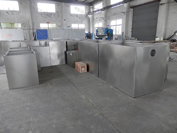 工地食堂3.5米*1.35米*1.85米隔油隔油提升一体机适用行业