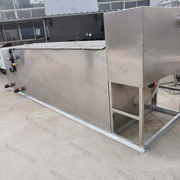 餐饮业大型隔油隔渣隔悬浮物隔油提升一体设备十大品牌