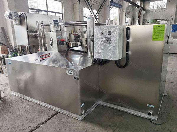 2.8米*1.2米*1.75米餐厅智能型隔油提升设备厂商