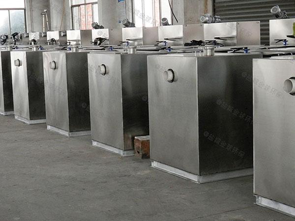 3.5米*1.35米*1.85米餐厨自动刮油油水分离机供应商