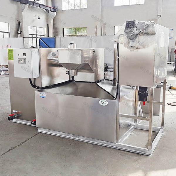 1000人综合体组合式油水分离设备操作说明