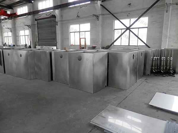 单位食堂500人砖砌隔油沉淀池生产厂商