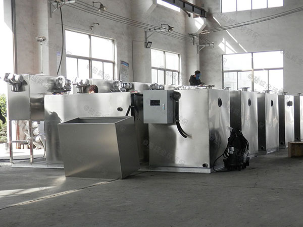 1000人餐厨智能化油水分离尺寸