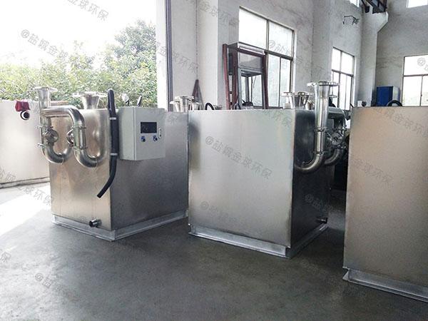 3.1米*1.2米*1.85米综合体智能化餐厨垃圾油水分离设备制造