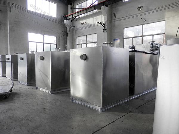 工地食堂3.5米*1.35米*1.85米砖砌隔油过滤设备生产厂商