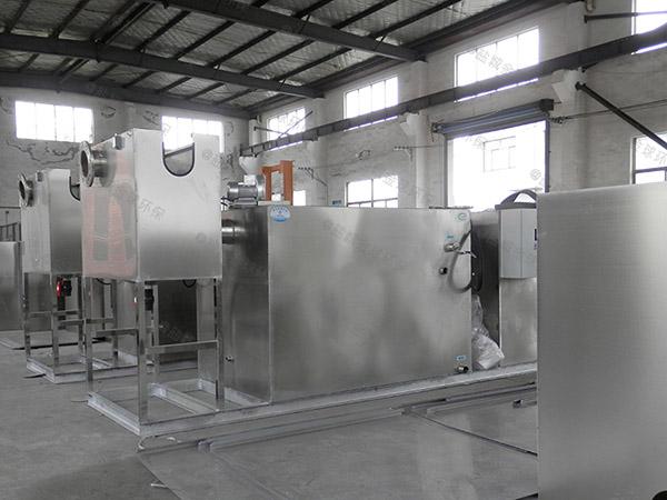 厨余甲型不锈钢隔油除渣器如何选型