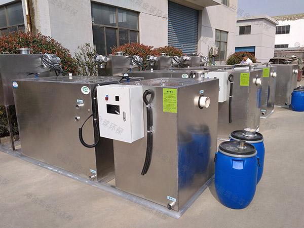 小饭店地下全能型隔油污水提升设备制造商