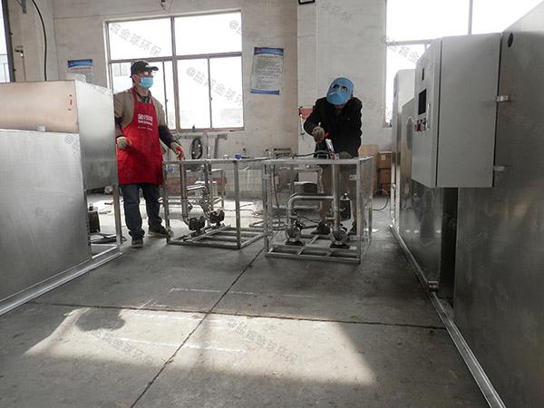 厨余1000人不锈钢隔油净化设备调试方案