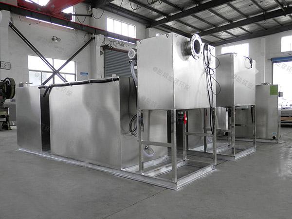 商家地下移动式餐厨垃圾处理一体机技术要求