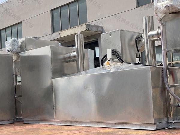 商城埋地式全自动智能型油水分离提升设备供货厂家