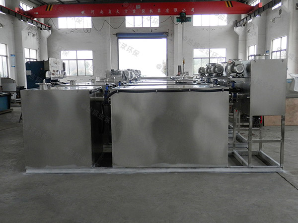 学校地上式简易油脂分离装置改造