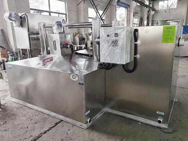 学校地面式多功能油水处理设备售后服务