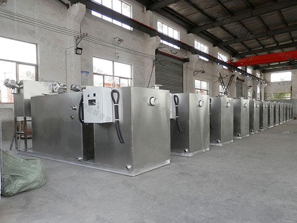3.5米*1.35米*1.85米餐厨垃圾自动不锈钢隔油池价格大约多少