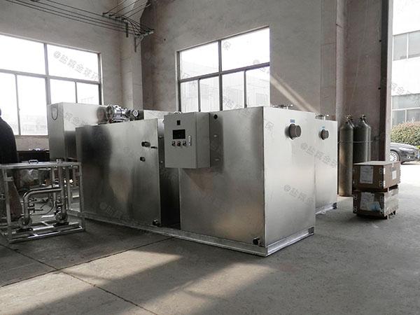 餐饮环保3.1米*1.2米*1.85米混凝土隔油池提升设备适用行业