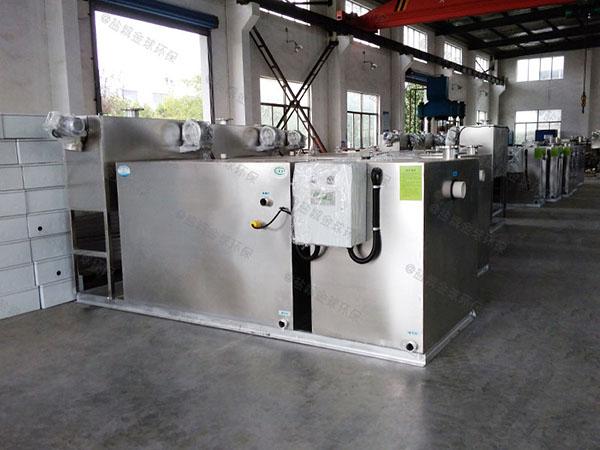 30立方厨房自动提升油水分离过滤器操作说明